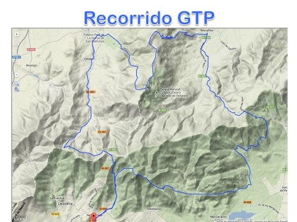 Gran Trail Peñalara 110k mapa