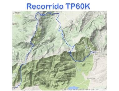 Trail Peñalara 60k mapa