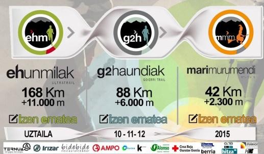 Ehunmilak 2015 168k - 88k - 42k