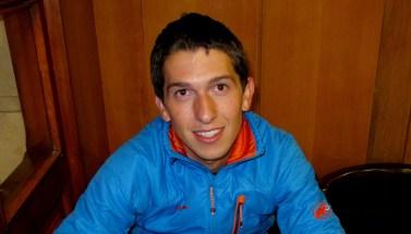 Manuel Merillas, destinado en Jaca es un habitual de los senderos de Canfranc.
