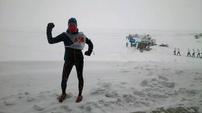 Sofía García (2XUSpain) Campeona Maratón Lago Baikal.  Foto: Sofía García.
