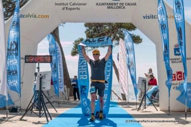 Miguel Caballero, campeón K42Mallorca