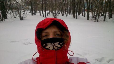 Sensaciones gélidas la víspera del Baikal Ice Marathon 2015. Foto. Sofía García.