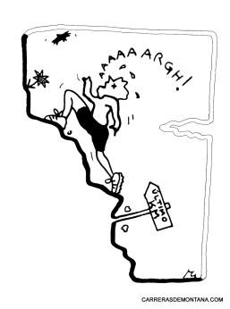 """Carreras de montaña con humor y amor: """"El Trepamuros"""""""