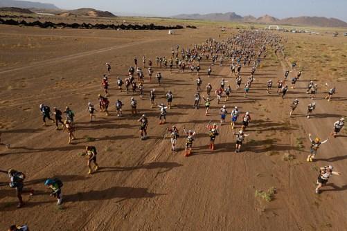 Marathon des Sables 2015: Mäs del 93% de finalistas en meta.
