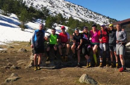 Entrenamiento trail running: Salida La Granja- Chozo Aragüez, un clásico (18k/D+1000m)