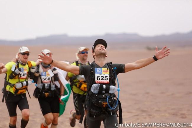 Marathon des Sables: Mucho más una gran convivencia que un reto deportivo en si. Foto: MDS
