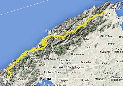 Ultra Mallorca 112k: Gran travesía integral de la Serra Tramuntana.