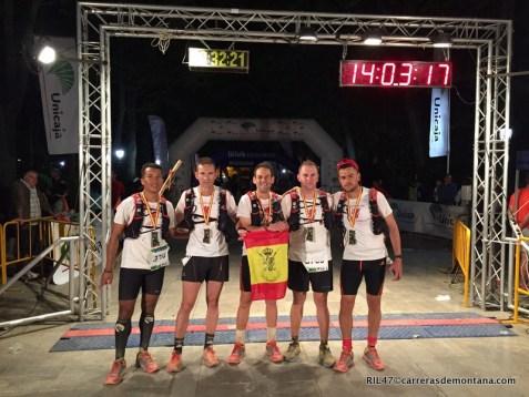 101 Ronda 2015: Equipo RIL47-La Palma en meta. ¡Cientouneros!