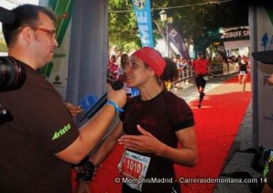 Silvia Miralles campeona Haría Extreme 2014. Foto: MemphisMadrid.