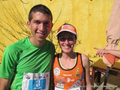 Kilómetro Vertical Transvulcania 2015: Manuel Merillas y Azara García