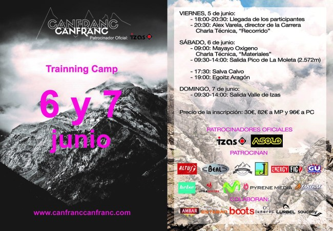 Training camp Canfranc Canfranc