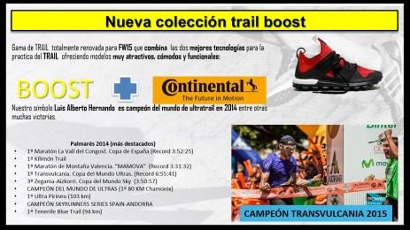 Adidas Running 2015 gama trail running