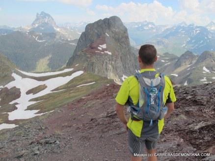 Panorámica del Pico Anayet y Midi d´Ossaue desde el Vértice Anayet.