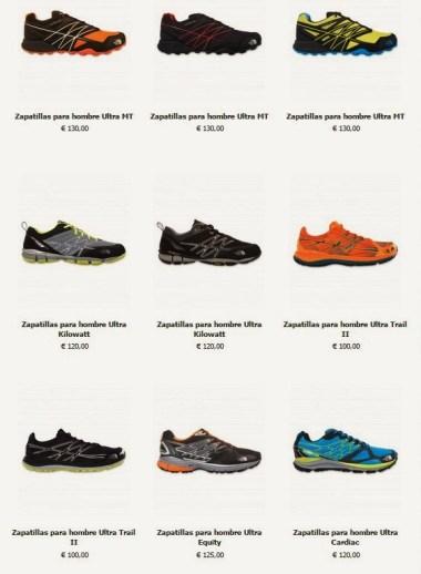 Zapatillas the north face trail running 2015: Tienda online oficial.