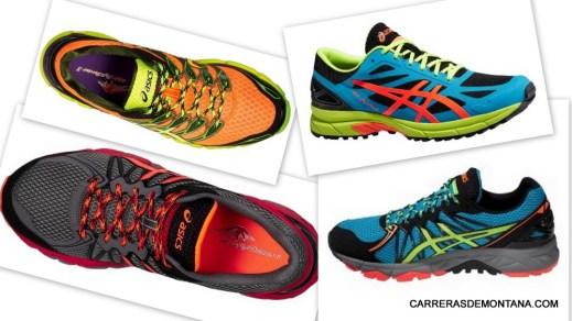Zapatillas Asics trail 2015: Algunos modelos destacados.