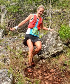 Landie Greyling campeona Africa ultra sky. Foto Landie Greyling