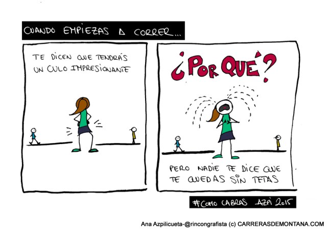 #TrailViernes en Carrerasdemontana.com: ¿Tetas o Culos?