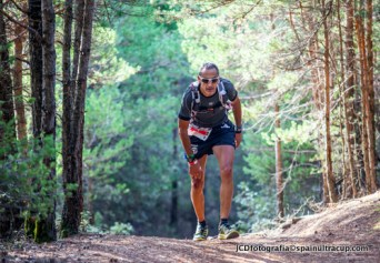 Alvaro Rodriguez en Ultra Trail Guara Somontano 2014