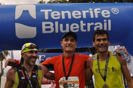 fotos tenerife blue trail 2015. organizacion jose manuel leon campeon maraton 43km
