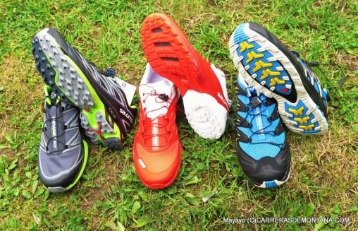 Zapatillas salomon 2015: Tres gamas diferenciadas.