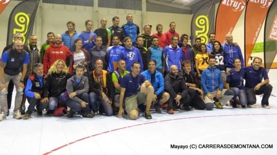 Canfranc Canfranc 2015: Foto familia finalistas ultra 100k