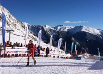 Laura Orgué campeona vertical race Fontblanca