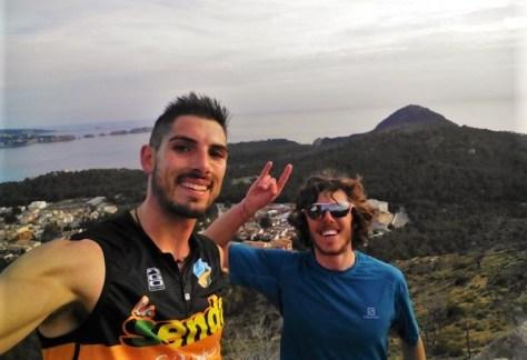 Manuel anguita con Jan Margarit en k42Mallorca 2016