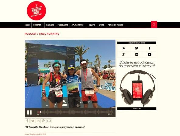 Alex Fraguela radiotrail maratonradio mayayo