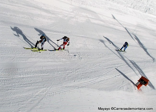 Traza Vertical Race Skimo Fontblanca. Foto: Mayayo