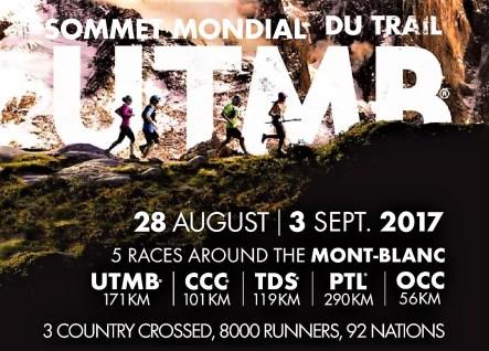 Ultra trail mont blanc 2017