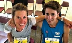 oriol cardona y laura orgue plata en Pikes Peak Marathon 2018
