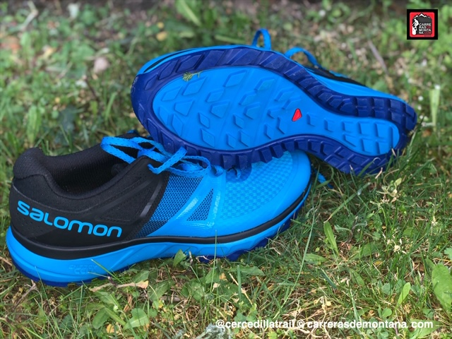 zapatilla salomon trail running ni�a 90