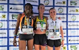 Grossglockner mountain running world cup 2019 wmra carreras de montaña podio femenino