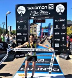 Oihana Kortazar gana trail pirineu 2019
