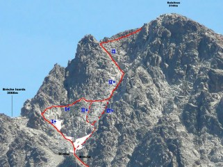 ascension balaitous por gran diagonal foto topopyrenees.com 2