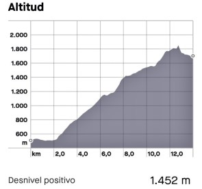 trail aubisque perfil de carrera