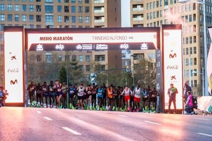 medio maraton valencia 2020 salida