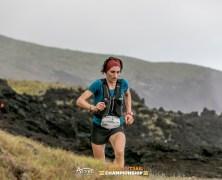 Oihana Kortazar en Azores Trail Run 2020. Foto: Davide Soussa.