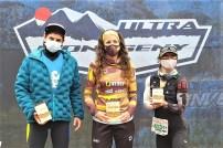 ultra montseny 2021 podio femenino maratón foto ultra montseny