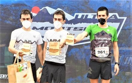 ultra montseny 2021 podio masculino mitja foto ultra montseny