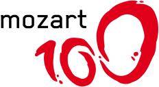 mozart 100 logo
