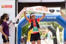 Sandra Sevillano, ganadora de la Vuelta al Aneto