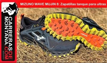 mizuno wave mujin 8 zapatillas trail running portada