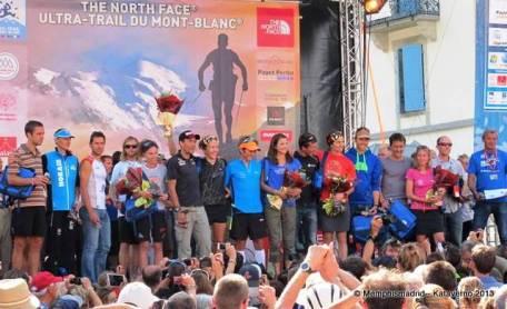 Ultra trail mont blanc 2013 foto podio final