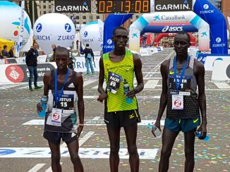 maraton barcelona 2017 podio masculino
