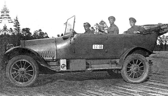 1915 Штабной автомобиль Руссо-Балт Е 15 35 специально разработан для нужд Русской императорской армии. Юго-Западный фронт.