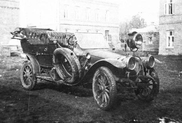 1914. Руссо-Балт С-24/40 в Русской Императорской армии.