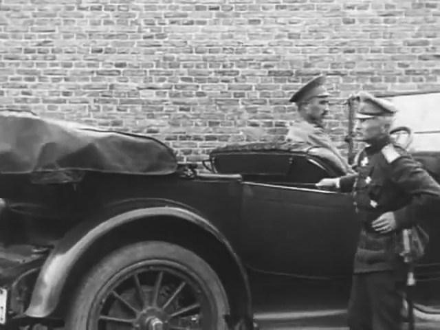 1916. Pierce-Arrow модель 48. В штабе генерал-адъютанта А.А. Брусилова.
