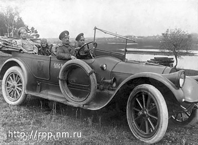 1917. Pierce-Arrow модель48. Борисов.
